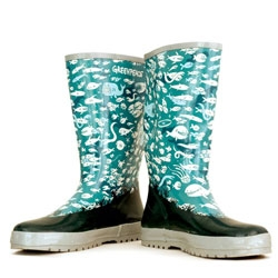 Zeptonn's Wellies for Greenpeace are awesome!
