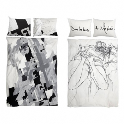 WeSC bedsheets from Mode2 and Delta. respectively.