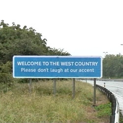 Banksy in the West Country - Please Don't Laugh At Our Accent