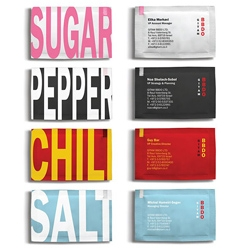 Interesting business card concept from Gitam BBDO Israel. It makes you wonder what seasoning you would be...