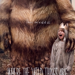 Official poster for Spike Jonze's Where the Wild Things Are.