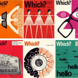 Which? Magazine covers from the late 60's.