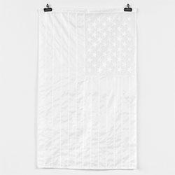 Stampd LA's all white american flag