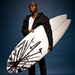 Very cool original surfboards designs from Onyj Clothing in NYC.