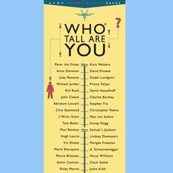 Who tall are you?