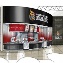 "Burger King announces the opening of its first ""Whopper Bar"" 