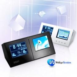widgetstation is a desk clock which can run widgets! hardware web 2.0 :)