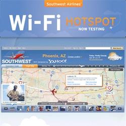 Wifi on Southwest Flights?!?! Partnership with Yahoo!