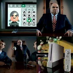I think we can officially say the Wii ad campaigns are far more fun than those over done ipod ads... especially this new corporate mii one!!! Also, just got the entries from FM today ~ picking the wii-nner tonight!