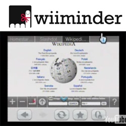 WiiMinder ~ wow. autohidden tabbed browsing for your wii... nice UI, embedded search, +  lots of other smart features... watch the video or click your wii there now!
