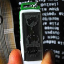 Make your own wikileaks insurance file necklace