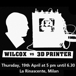 On Milan Design events to look forward to - Dominic Wilcox Vs 3D Printer! He will be racing a Makerbot in the creation of a model of the Duomo!