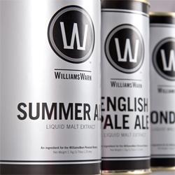 Great packaging for Williams Warn by Studio Alexander.