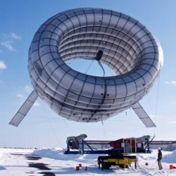 Altaeros Energies, wind energy company formed out of MIT, has been able to generate high altitude power from a prototype of its floating wind turbine in Maine.