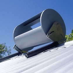 Graeme Attey of Fremantle designed the concept which uses a modular wind turbine that is small enough to sit on a the roof of house.