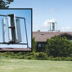Make your own wind turbine, much like the Graeme Attey version featured in Australia & NOTCOT.