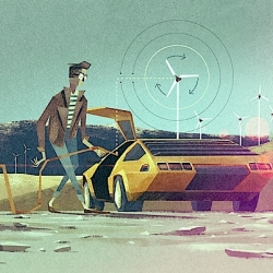 Fantastic illustrations by Matthew Lyons.