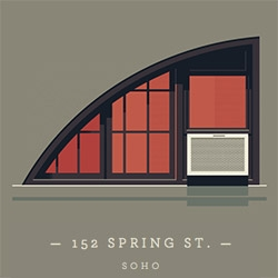 Fun illustrations of windows of New York by Jose Guizar!
