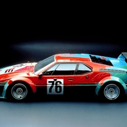 extra cool look back at some BMW art cars - including this one designed by warhol!