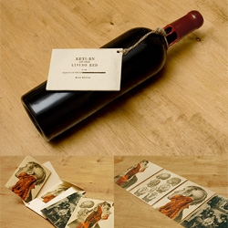 Excellent list of amazing wine label designs.  These aren't your father's wine labels!