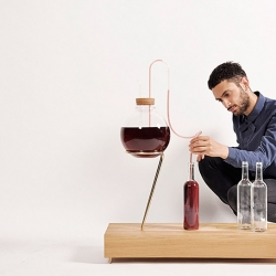 'housewine' is a home-brewing system developed by eindhoven-based designer Sabine Marcelis.