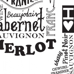 Wine and Type = The perfect pairing.