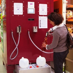 These French wine vending machines, designed by Astrid Terzian, may be making their way over the USA next year.