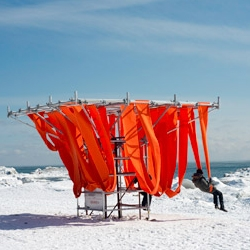 Sling Swing by Ed Butler, Dan Wiltshire, and Frances McGeown for Toronto's Winter Stations