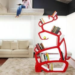 Spanish designer Jordi Milà has created the WisdomTree bookshelf.