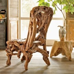 i humbly present this truly glorious azalea wood chair, new from wisteria!