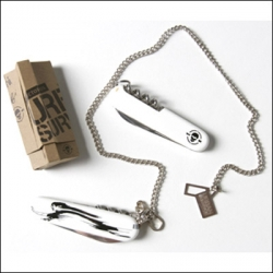 VICTORINOX x WK INTERACT = awesome swiss army knife on a chain.