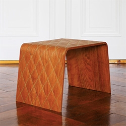 Stitched Wood! The Chester by by Oya-Meryem Yanik & Anastasiya Koshcheeva.