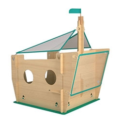 YONOPLAY by Shlomi Eiger and Roi Vaspi Yanay is a series of wooden structures for kids. Built from simple modules and packed in to a very flat package, easily hosted in every ordinary apartment.