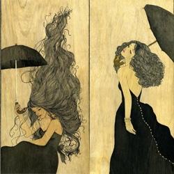 Evaline Tarunadjaja has some gorgeous illustration work, particularly liking her woody pieces