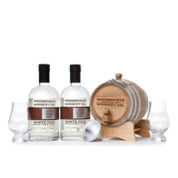 You can age your own whiskey with the Woodinville Whiskey Kit.