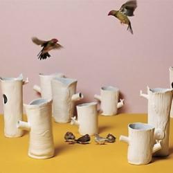 Wonderfully whimsical wild woodland vases at anthropologie.