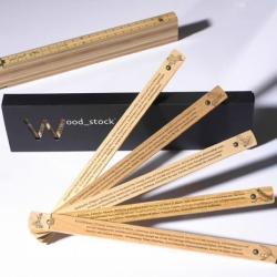 Wood stock is a measuring tool that teachs to recognize some different woods.
