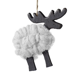 Bolia Wool Deer Ornaments!
