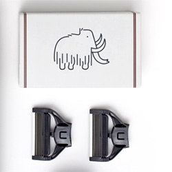 Loving the wooly mammoth on Harry's shave goods (the latest line from Warby Parker co-founder Jeff Raider)