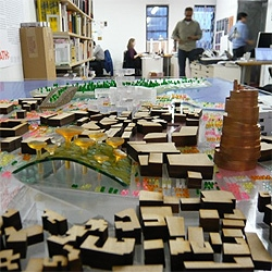 Video interview with Work Architecture Company, winners of the PS1 installation being built in New York, and the Cadavre Exquis Lebanese proposal for the 2007 Rotterdam Biennale.