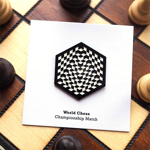 Pin Pin Pin World Chess Championship Match Pin! (from 2016)