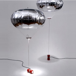 Lamp + Blimp = World View by Afroditi Krassa.