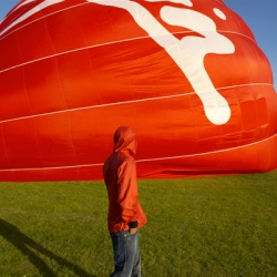 Worn Again is turning retired hot-air balloons from Virgin (yes, Richard Branson's company)  into red-hot jackets, bags, and parkas for men and women.