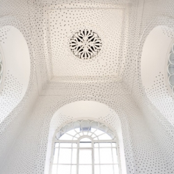 Edinburgh's Dean Gallery commissioned Turner Prize winner Richard Wright to paint their ceiling.