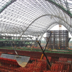 There are a number of new train stations being built in China today. And MaP3 is doing the structural engineering and detailing for four of them. Incredible long-span constructions. Gare de Wuhan.