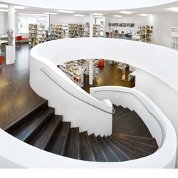 Wurm + Wurm's Oberkirch Media Centre has some stunning staircases!