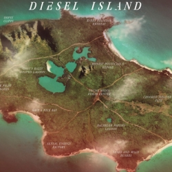 Diesel Island is a virtual place that conveys the brand's essence and shows it's new catalog in a unique way.