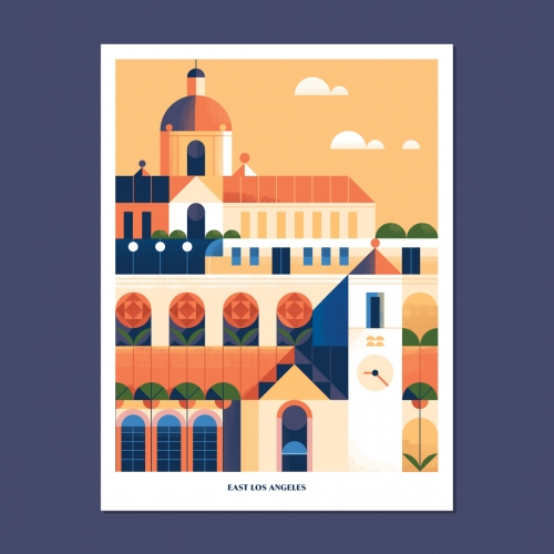 When You Think of Home is a creative project that enlists artists around the world to create unique posters to share their perspective of home. The posters  benefit Acres of Love, a nonprofit that houses orphaned kids in South Africa.