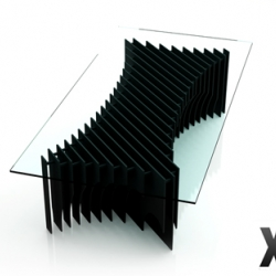 We love the table X29 by Rlos Design...