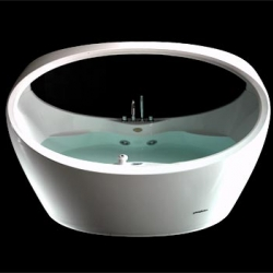 Alpha: two-person whirlpool tub. Just a little piece of paradise. I really need one. Jacuzzi Morphosis...